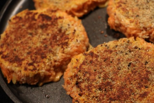 Carrot Sweet Potato Patties